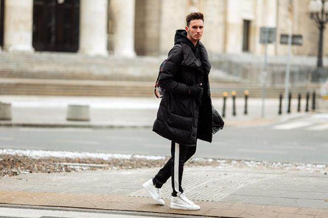 アスレジャーファッションの男性-2
