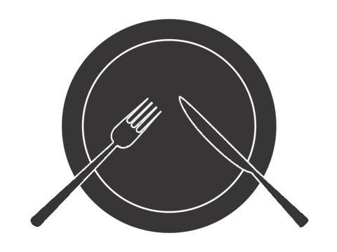 ナイフとフォークの置き方-1