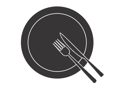 ナイフとフォークの置き方-2
