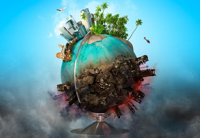 地球の環境汚染