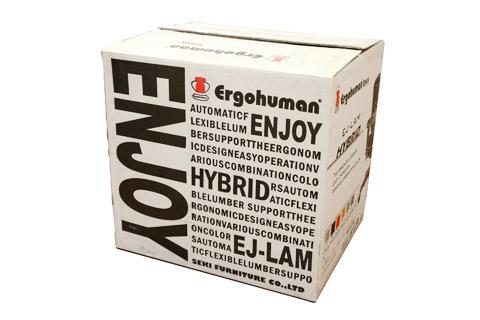 エルゴヒューマン エンジョイの梱包箱