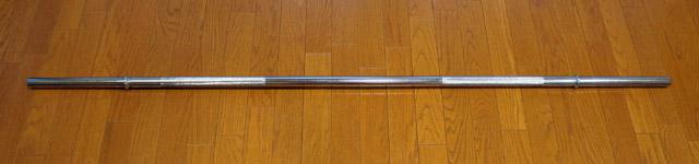 アイロテック-レギュラーバーベルシャフト180cm