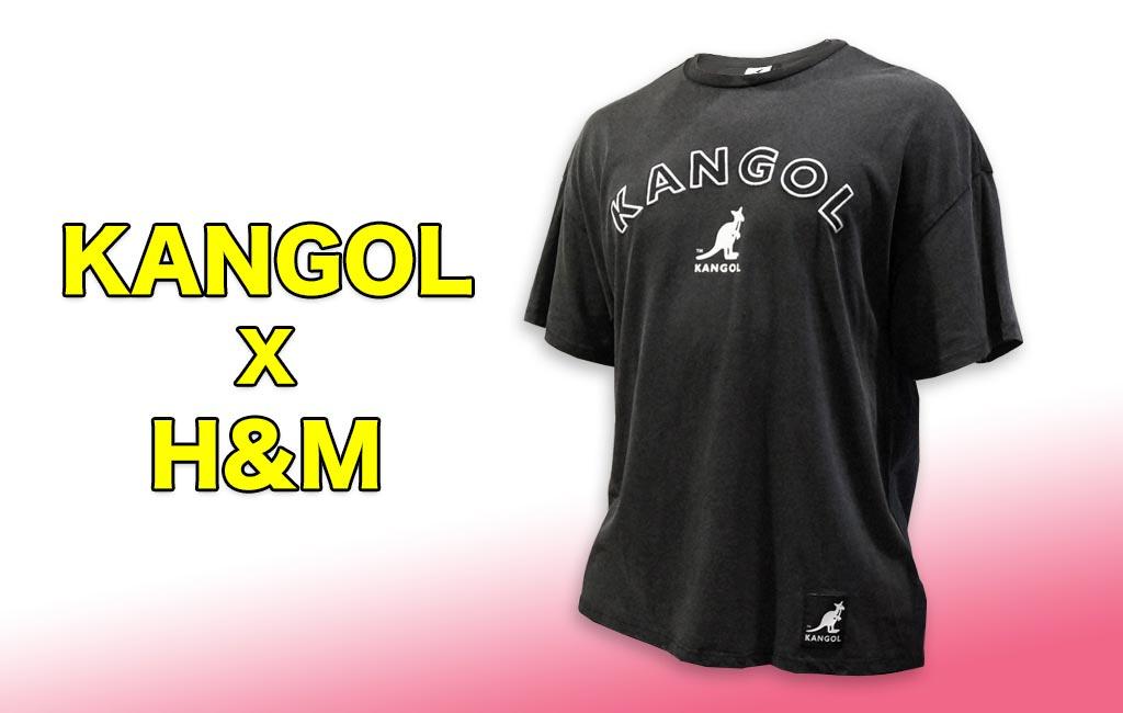KANGOL×H&M オーバーサイズTシャツ