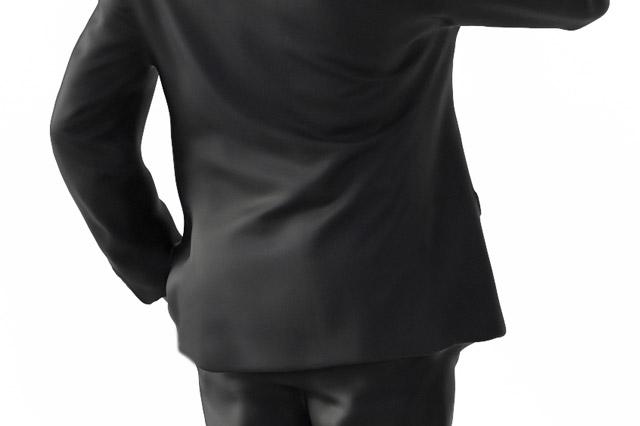 ノーベントのスーツ