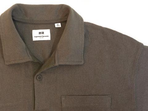 EGオーバーサイズポロシャツのステッチ
