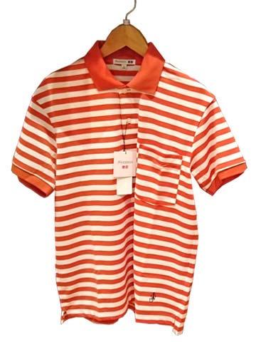 JWA-ドライEXボーダーポロシャツ(半袖)+E