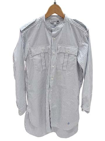 JWA-スタンドカラーロングシャツ(長袖)+E