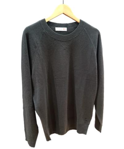 TM-カシミヤクルーネックセーター+E