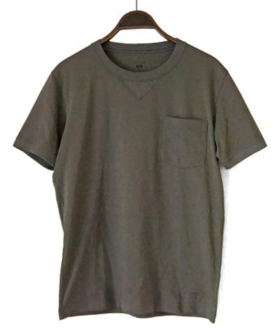 TM-スーピマコットンTシャツ(グレー)