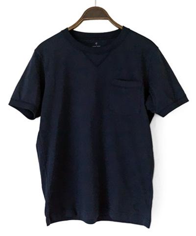 TM-スーピマコットンTシャツ(ネイビー)