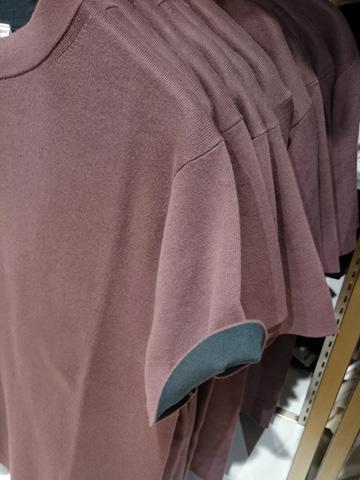 ユニクロU-コットンクルーネックセーター