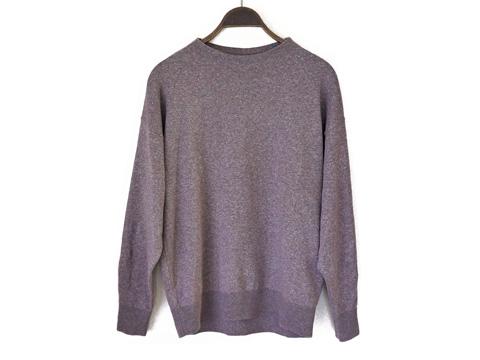 ユニクロU-コットンモックネックセーター