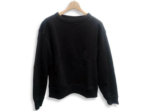 ワイドフィットスウェットシャツ(ブラック)